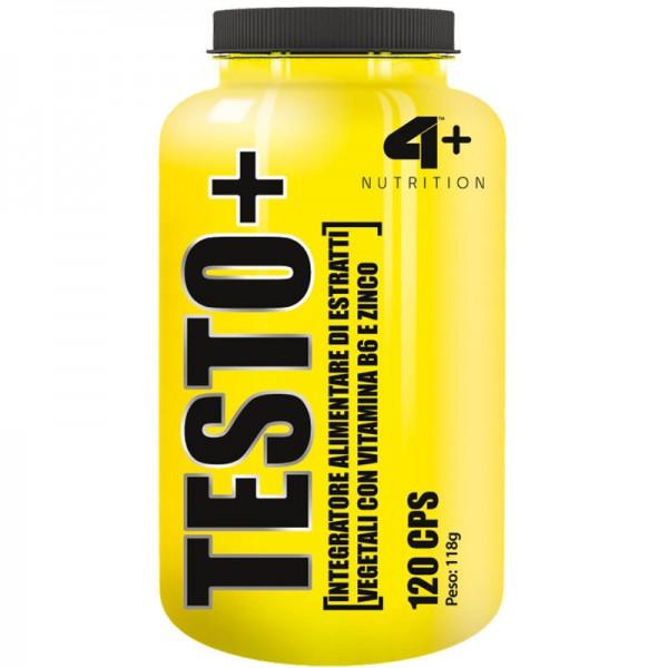 Testo+ 120 tabliet - 4+ Nutrition
