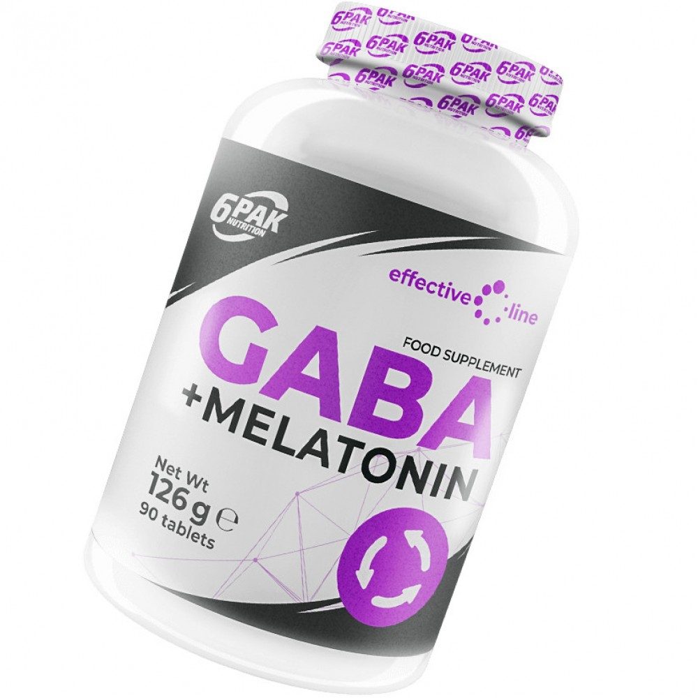 GABA + Melatonin 90 tabliet - 6PAK