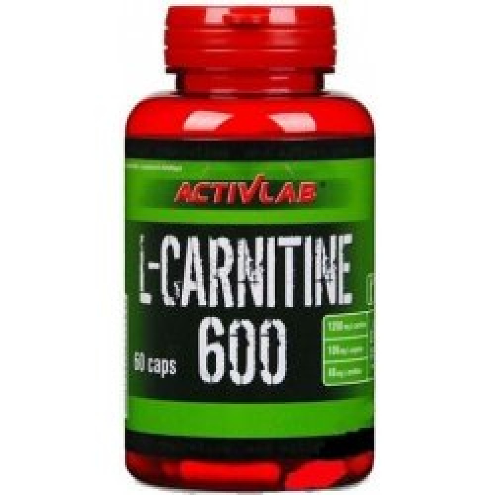 L-Carnitine 600 60 tabliet - ActivLab