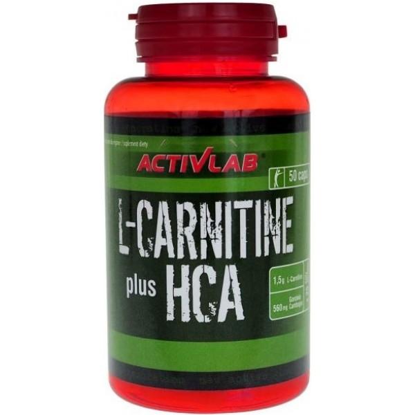 L-Carnitine HCA plus 50 tabliet - ActivLab
