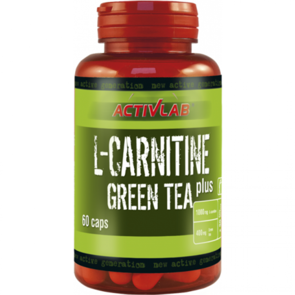 L-Carnitine plus Green Tea 60 tabliet - ActivLab