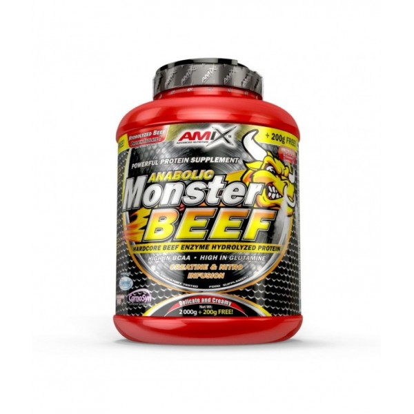 Anabolic Monster BEEF 90 Protein 2200 g - Amix