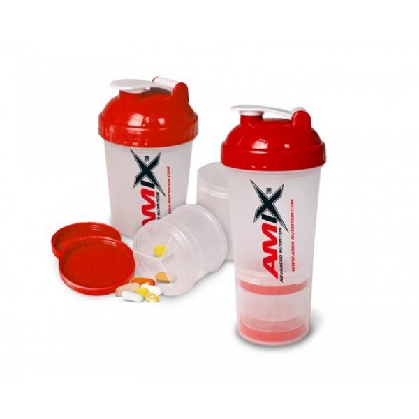 Monster Shaker 600 ml trojdielny - Amix