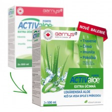 Active Aloe 2 x 500 ml - Barny's