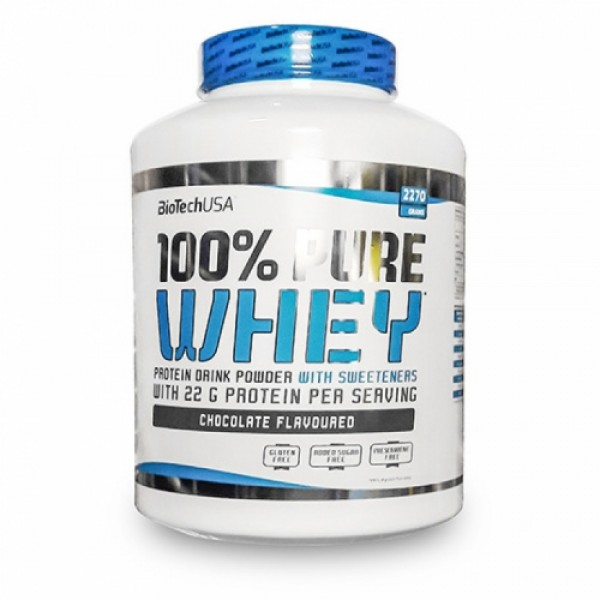 100% Pure Whey 2270 g - Biotech USA
