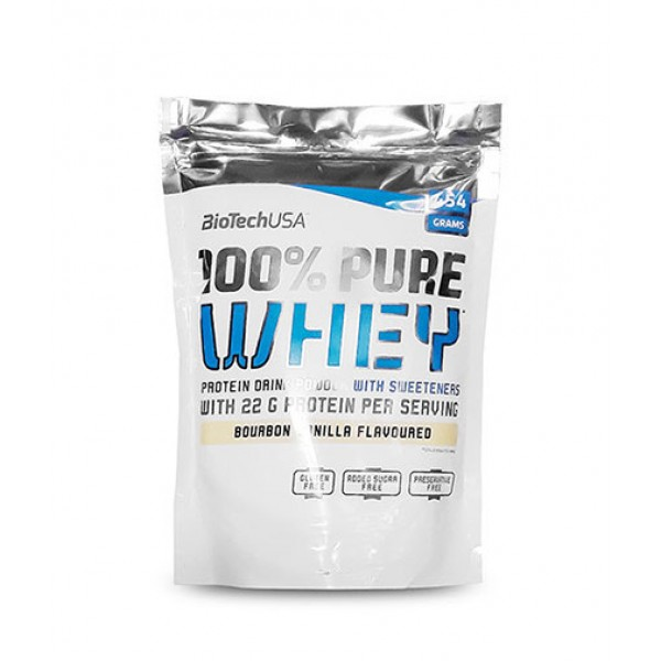 100% Pure Whey 454 g - Biotech USA