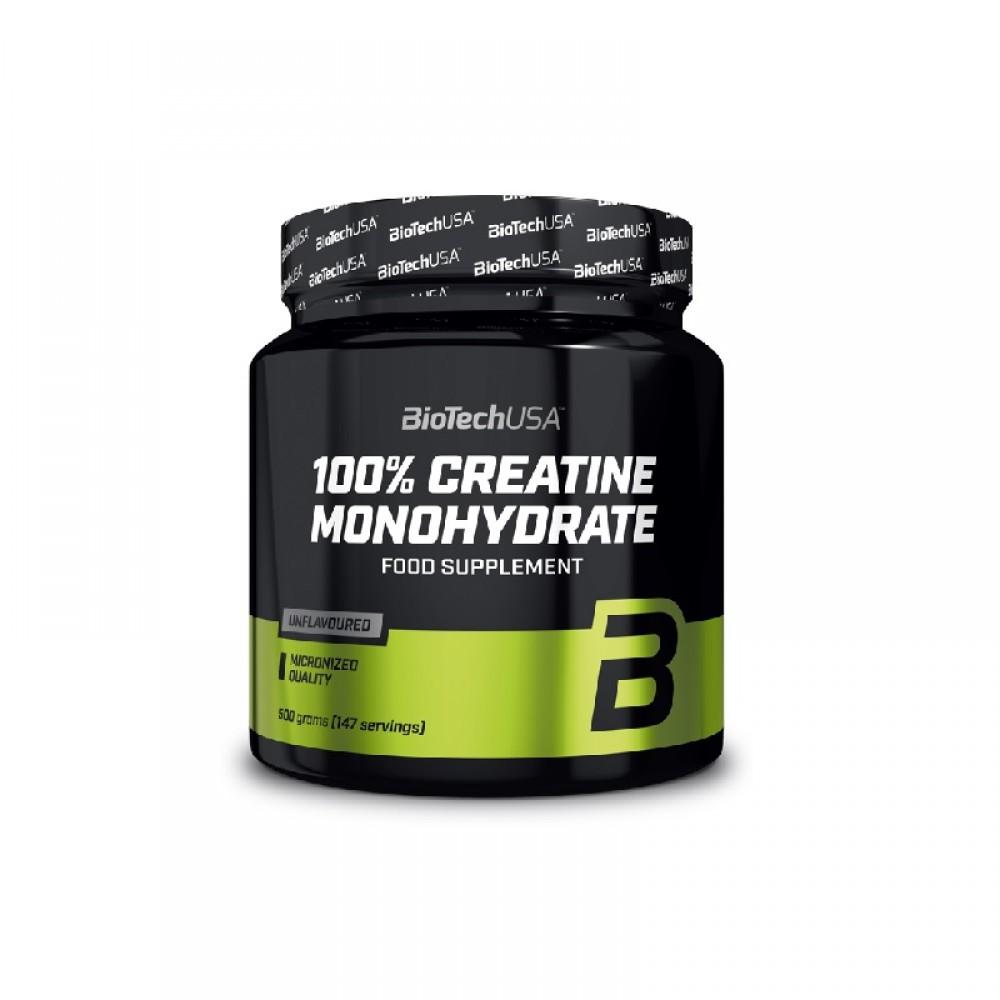 100% Creatine Monohydrate 300 g - Biotech USA
