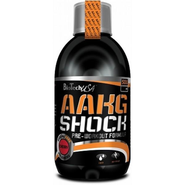 AAKG Shock 500 ml - Biotech USA