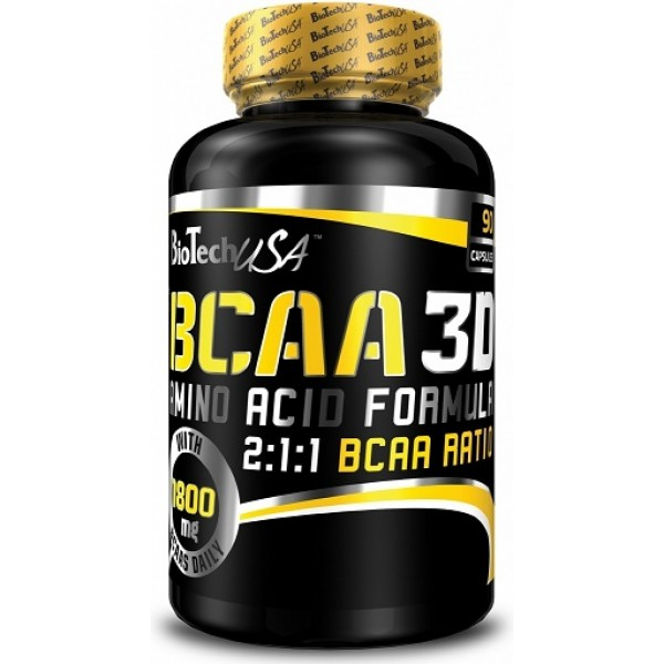 BCAA 3D 90 tabliet - Biotech USA