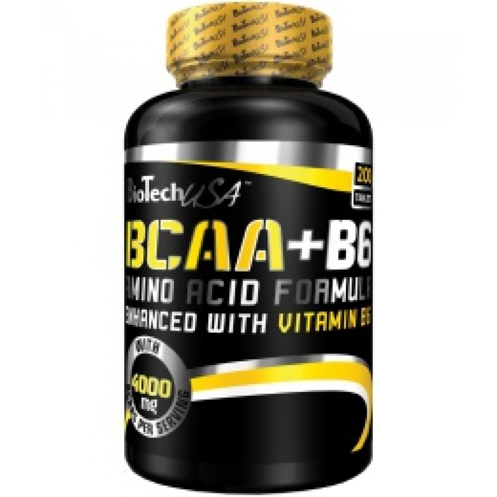 BCAA + B6 200 tabliet - Biotech USA