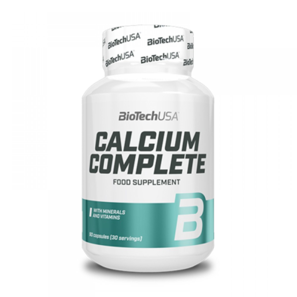 Calcium Complete 90 kapsúl - Biotech USA