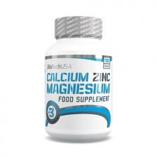 Calcium Zinc Magnesium 100 tabliet - Biotech USA