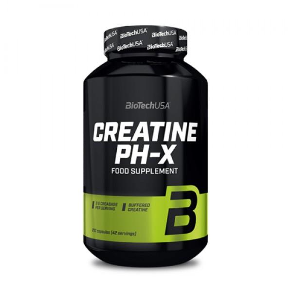 Creatine pH-X 210 kapsúl - Biotech USA