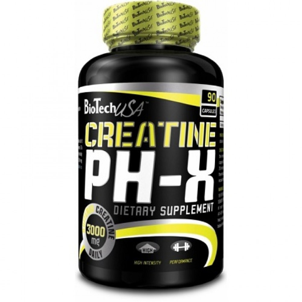 Creatine pH-X 90 tabliet - Biotech USA