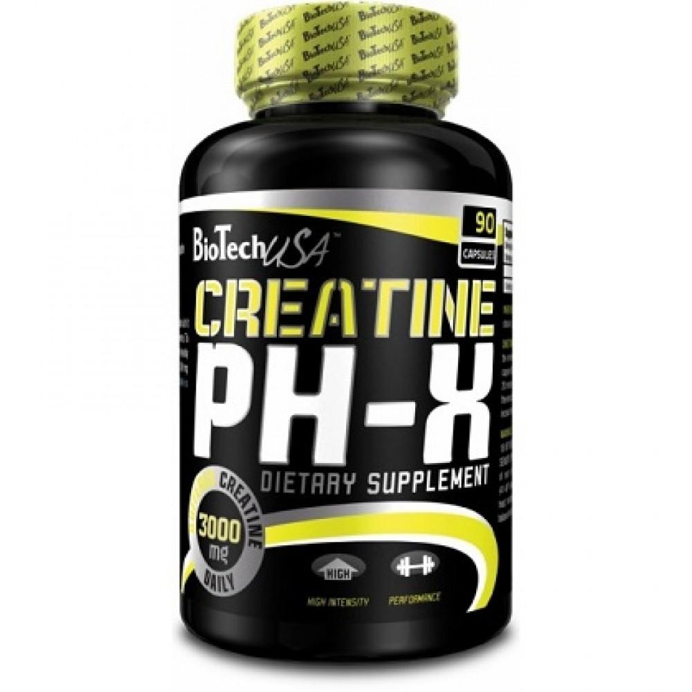 Creatine pH-X 90 tabliet - Biotech USA