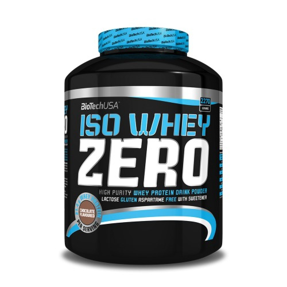 Iso Whey Zero 2270 g - Biotech USA