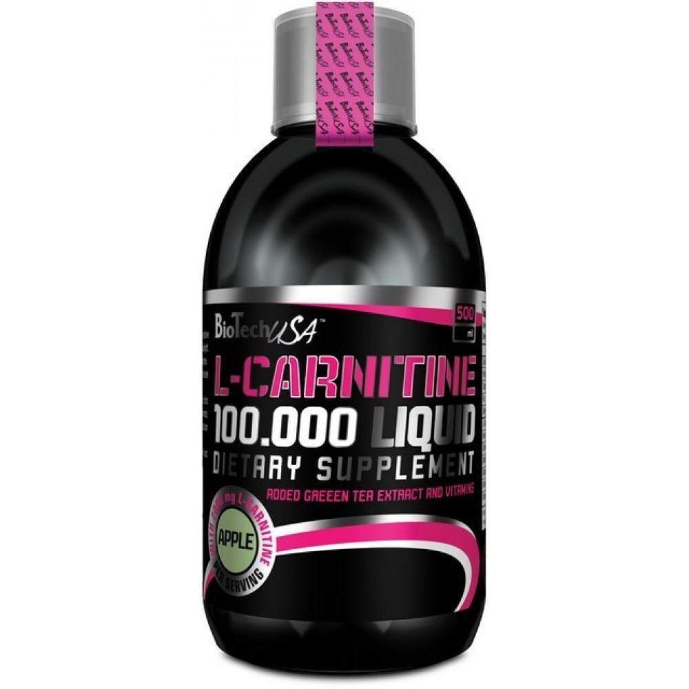L-Carnitine Liquid 100000 500 ml - Biotech USA