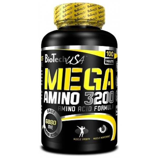 Mega Amino 3200 100 tabliet - Biotech USA