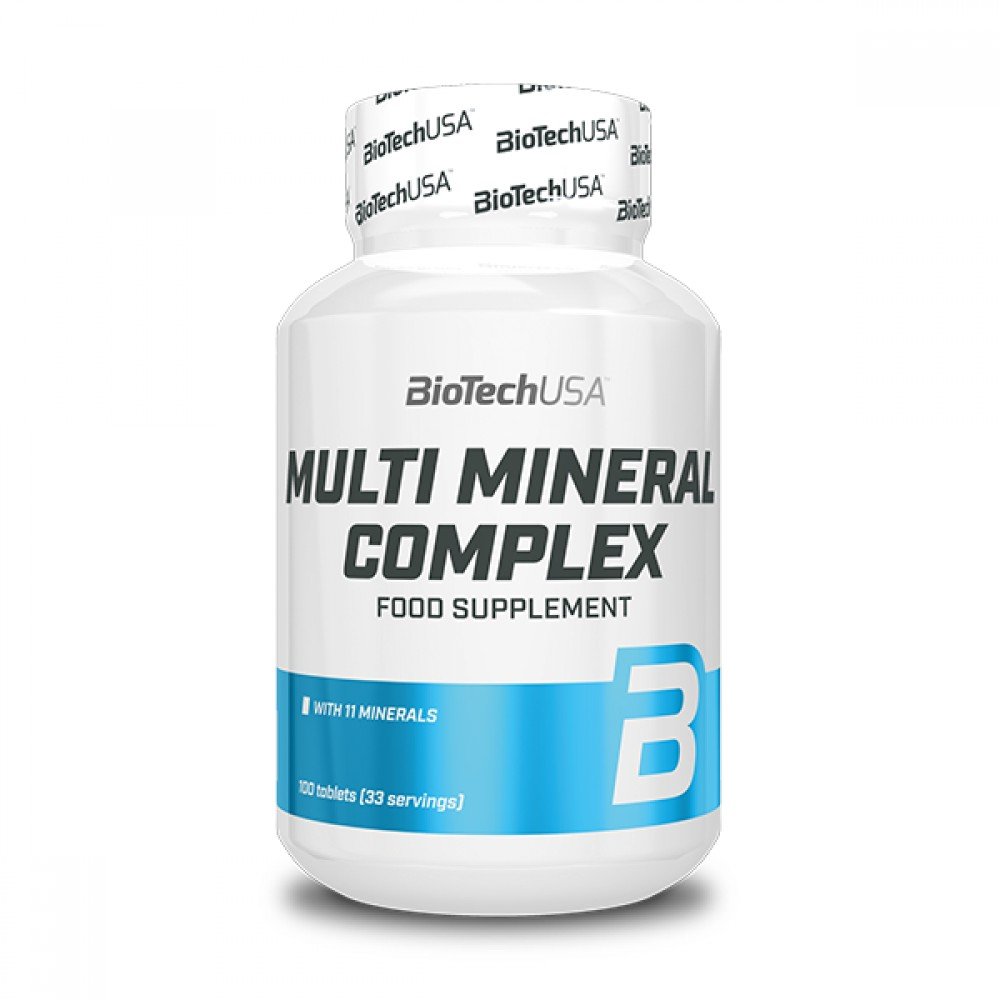 Multimineral Complex 100 tabliet - Biotech USA