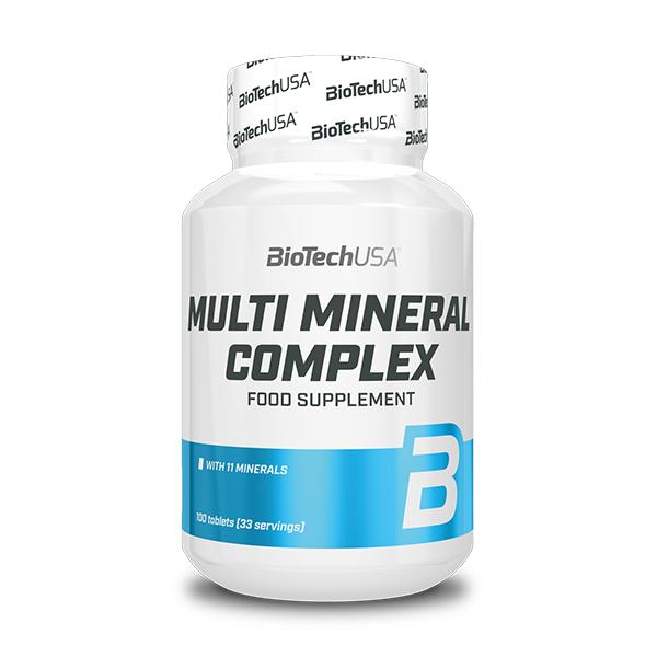 Multimineral Complex 100 tabliet - Biotech USA