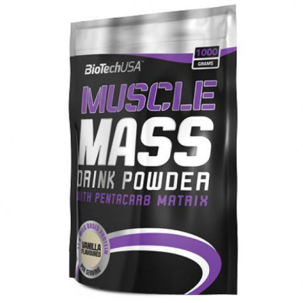 Muscle Mass 1000 g - Biotech USA