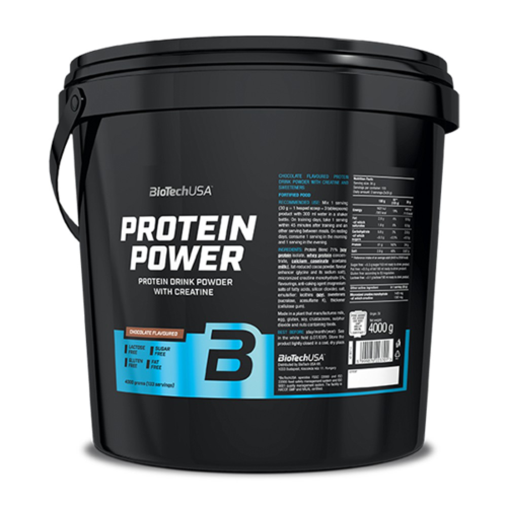 Protein Power 4000 g - Biotech USA