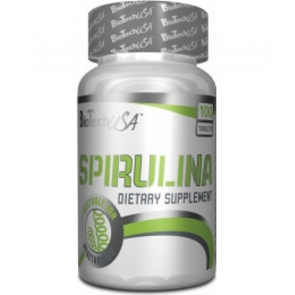 Spirulina 100 tabliet - Biotech USA