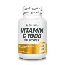Vitamín C 1000 100 tabliet - Biotech USA