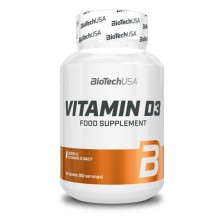 Vitamin D3 60 tabliet - Biotech USA