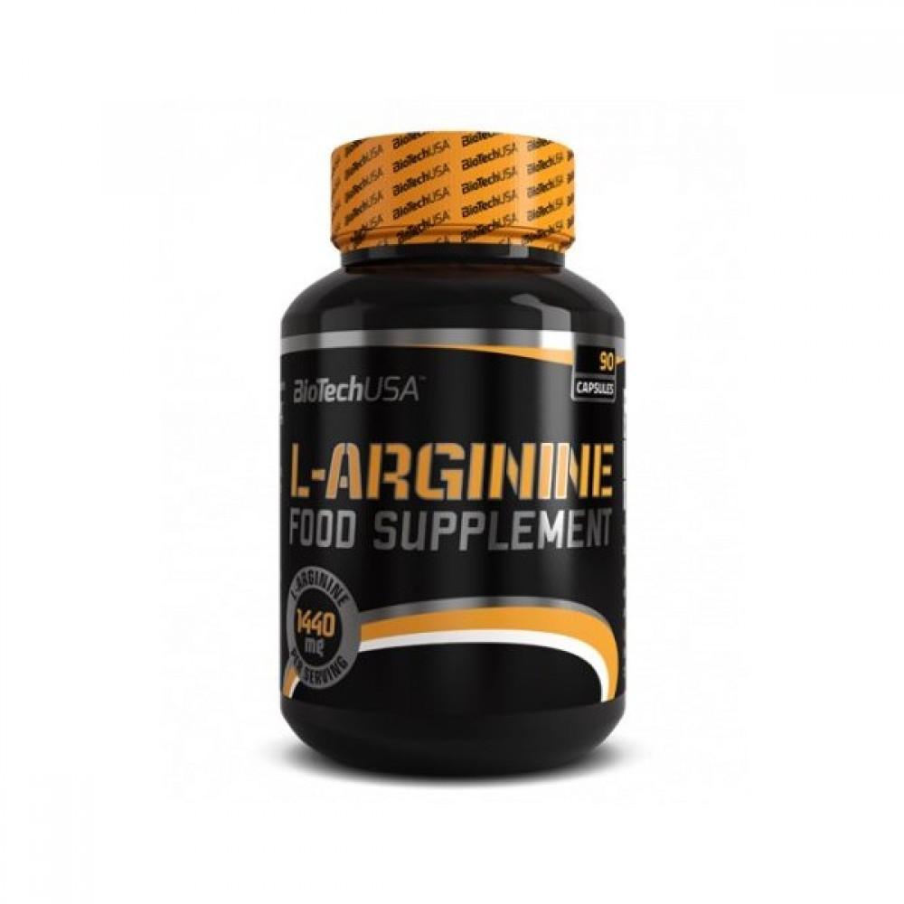 L-Arginine 90 tabliet - Biotech USA