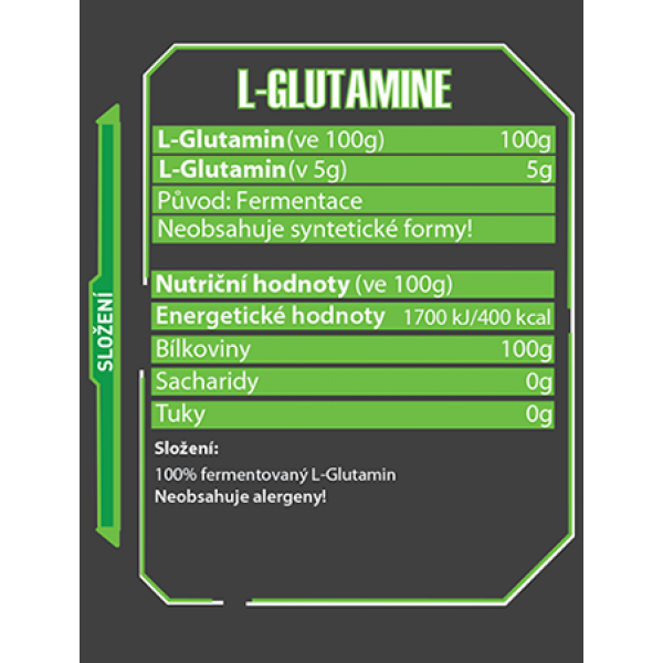 L-Glutamine 500 g - Czech Virus