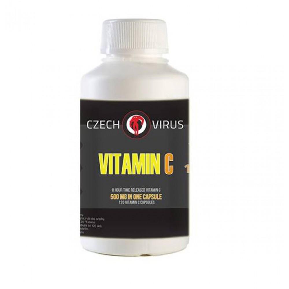 Vitamin C 120 tabliet - Czech Virus