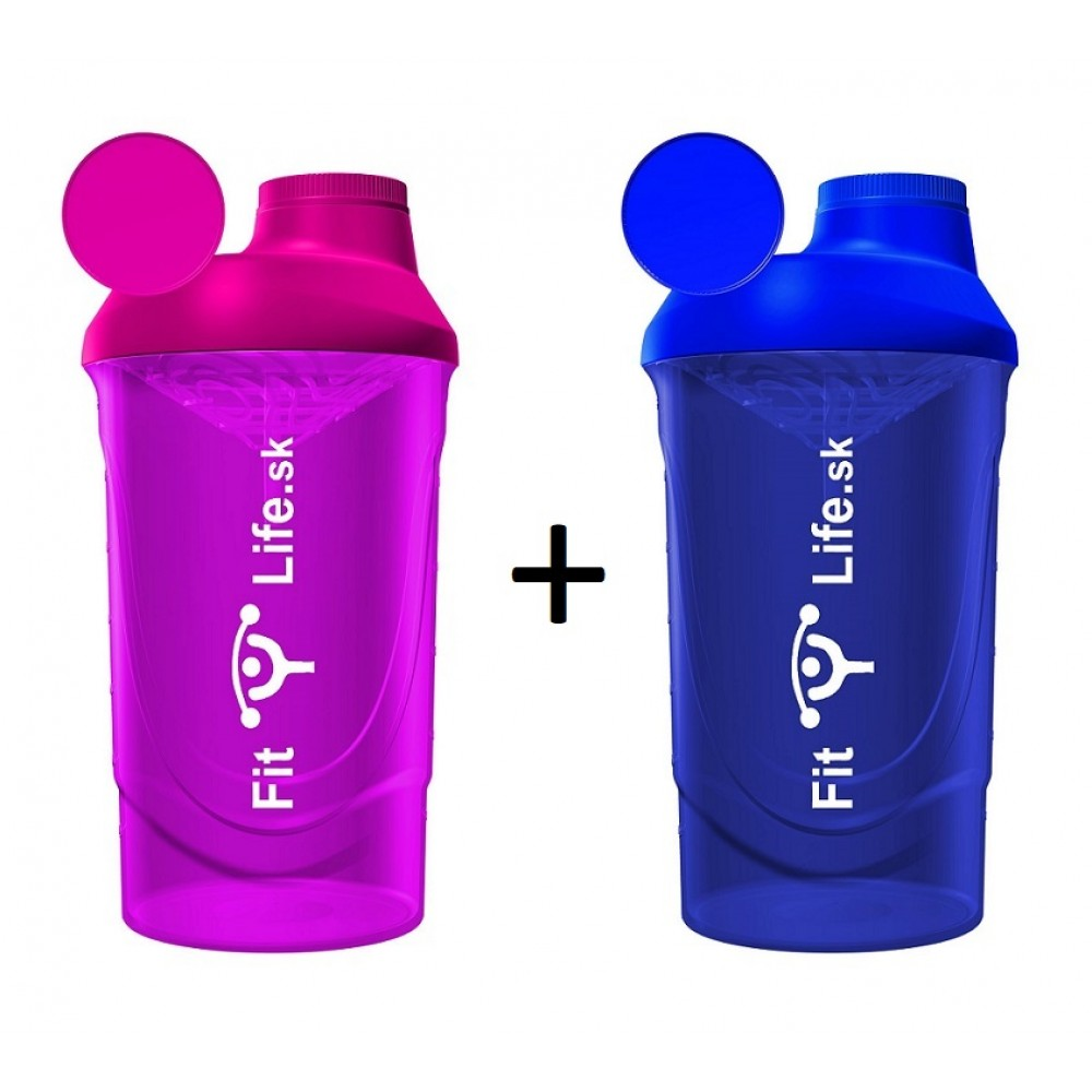 Fit Life Shaker 600 ml 1 + 1 ZADARMO - Fit Life