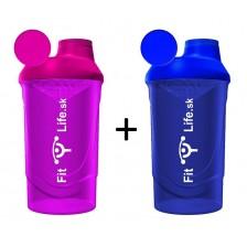 Fit Life Shaker 600 ml 1 + 1 ZADARMO - Fit Life