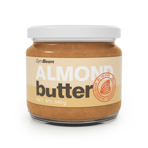 100% Almond Butter jemné mandle 340 g - GymBeam