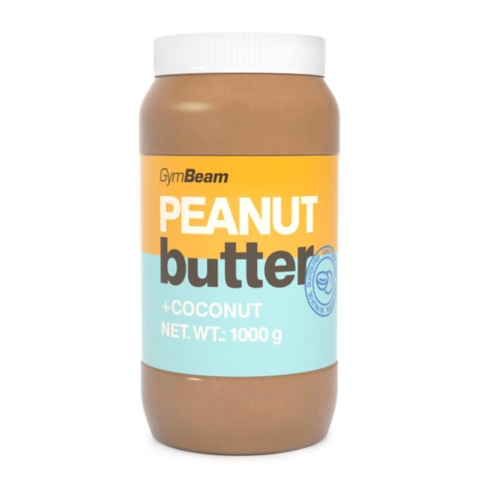 100% Arašidové maslo s kokosom 340 g - GymBeam