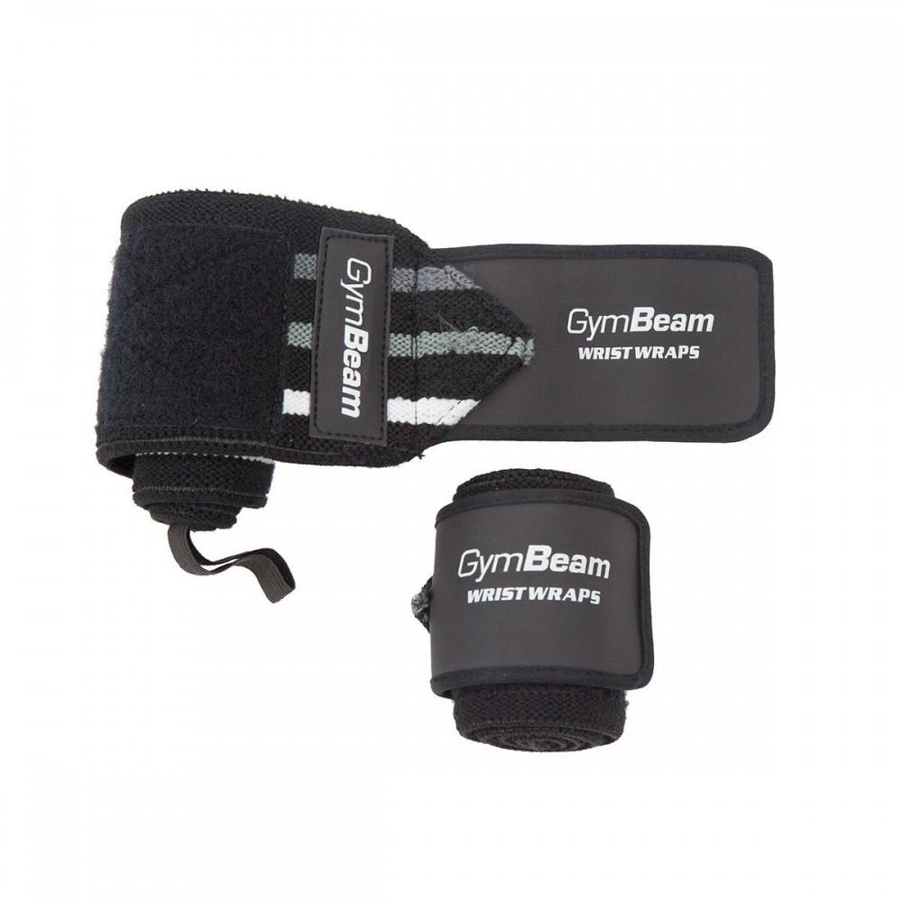 Bandáže na zápästia - čierne - GymBeam