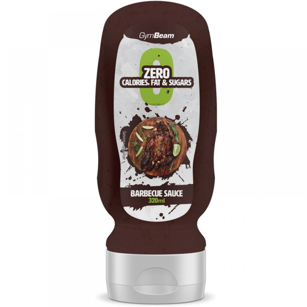 Bezkalorická omáčka BBQ Sauce 320 ml - GymBeam