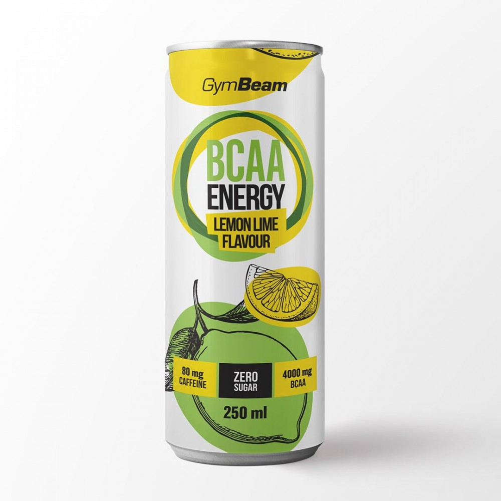 BCAA Energy drink 250 ml - GymBeam