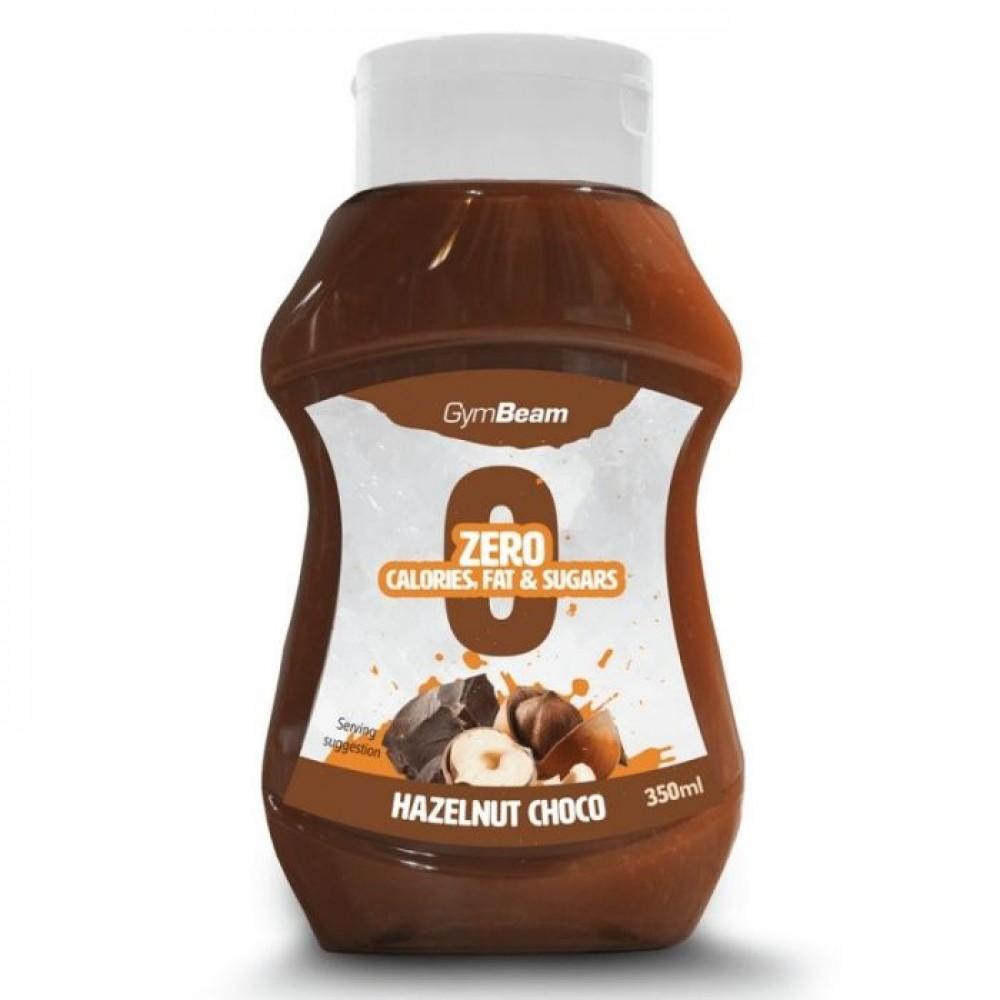Bezkalorický sirup Hazelnut Chocolate syrup 350 ml - GymBeam