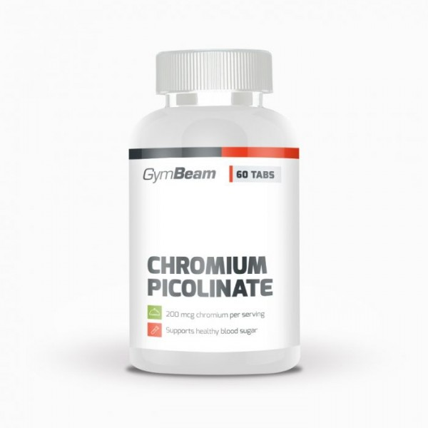 Chromium Picolinate 60 tabliet - GymBeam