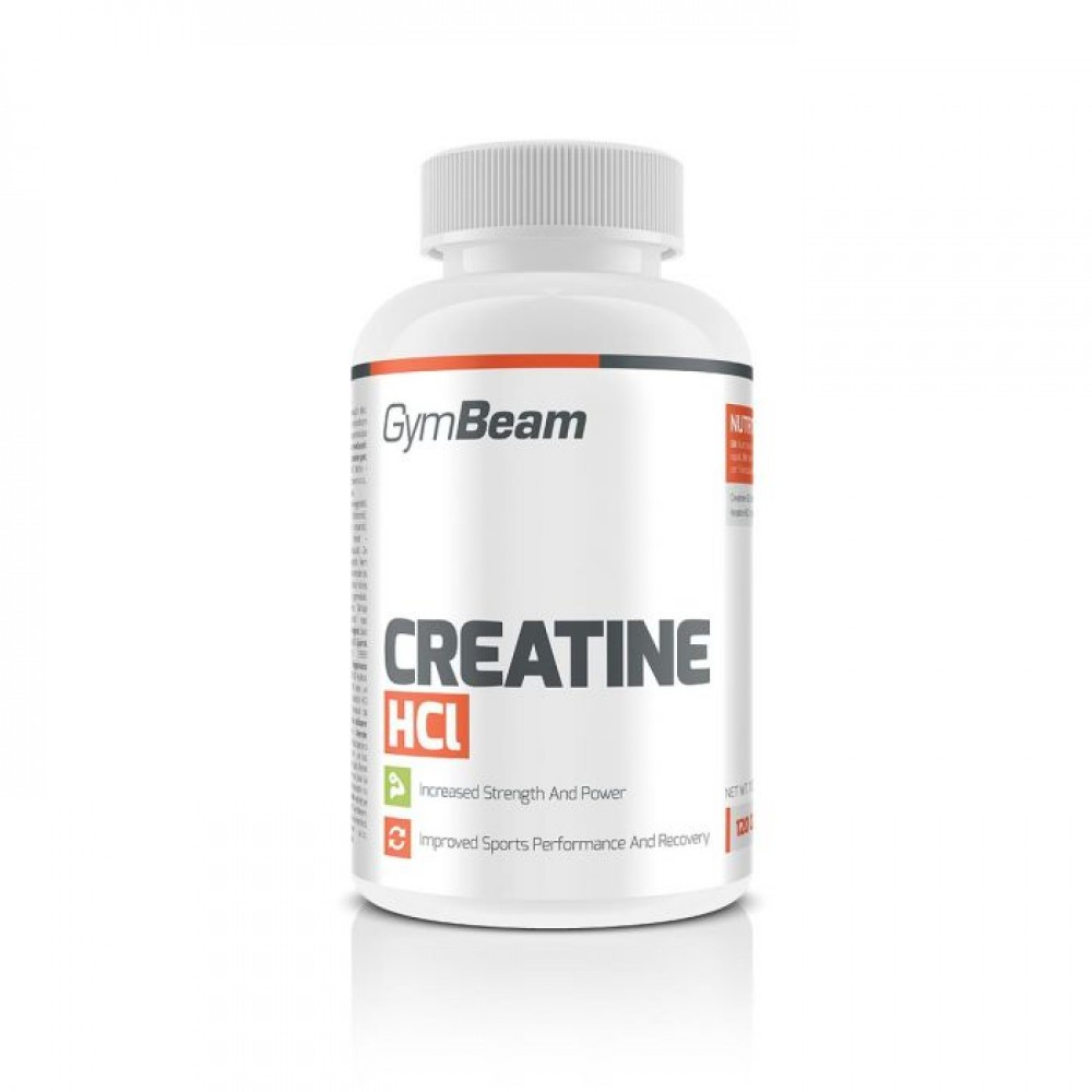 Creatine HCl 120 tabliet - GymBeam