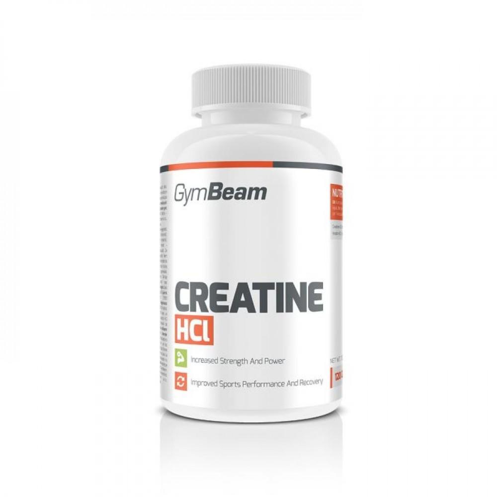 Creatine HCl 120 tabliet - GymBeam