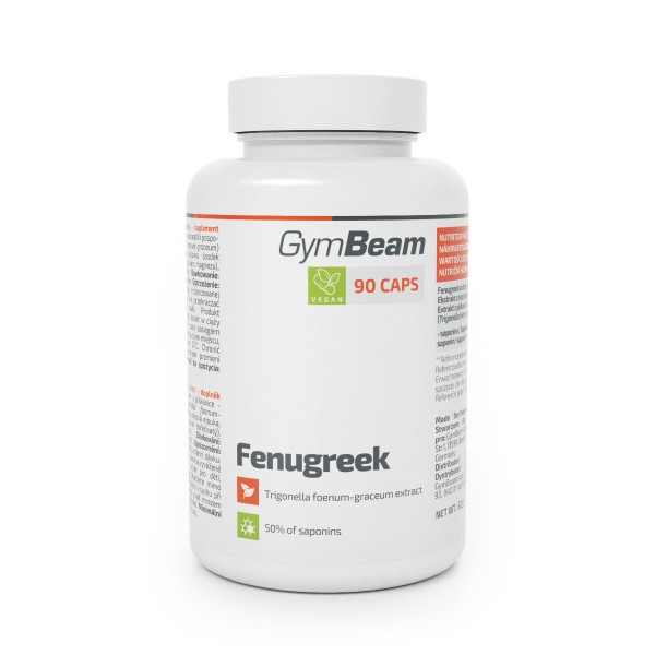 Fenugreek 90 kapsúl - GymBeam