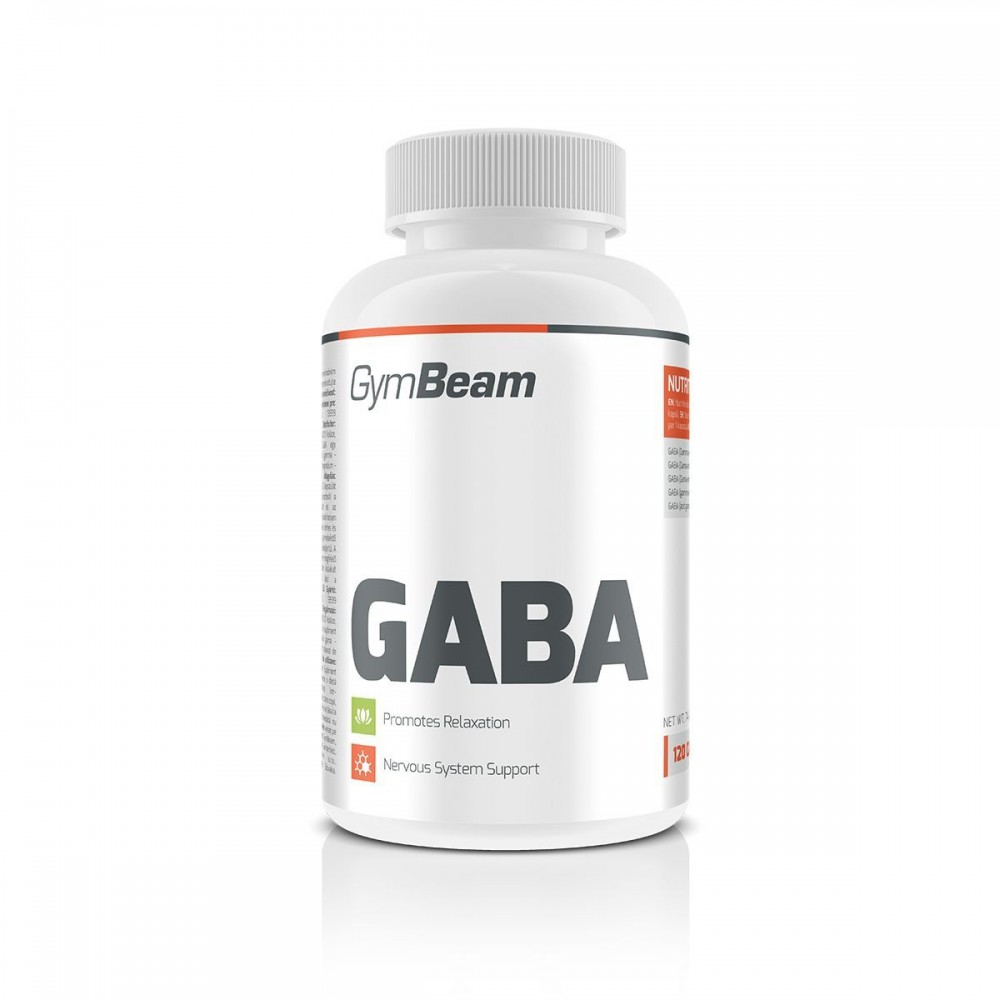 GABA 120 tabliet - GymBeam