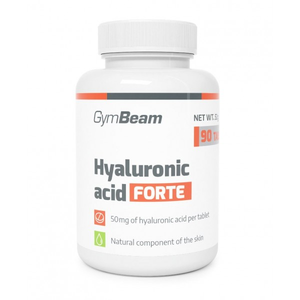 Kyselina hyalurónová Forte 90 tabliet - GymBeam