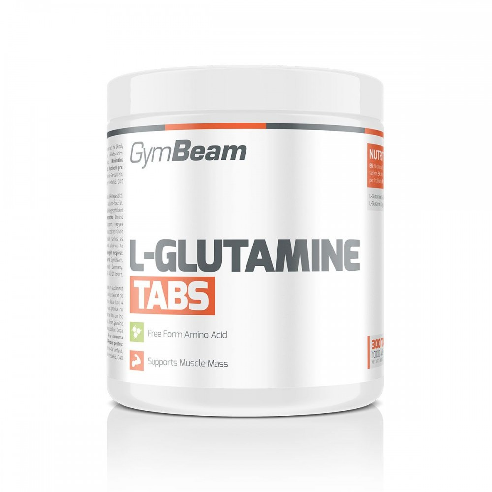 L-Glutamine 300 tabliet - GymBeam