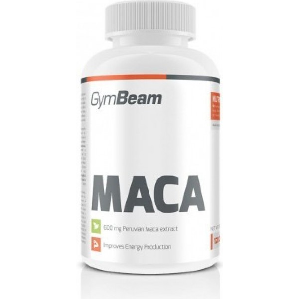 Maca 120 tabliet - GymBeam