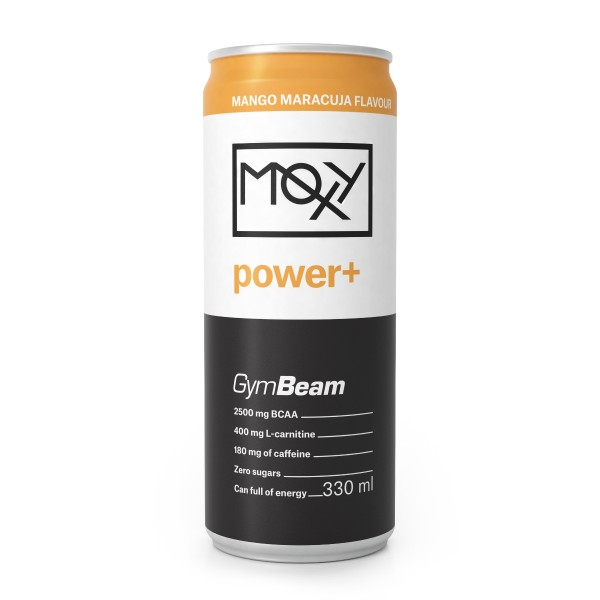 Moxy Power+ Energy Drink 330 ml - GymBeam