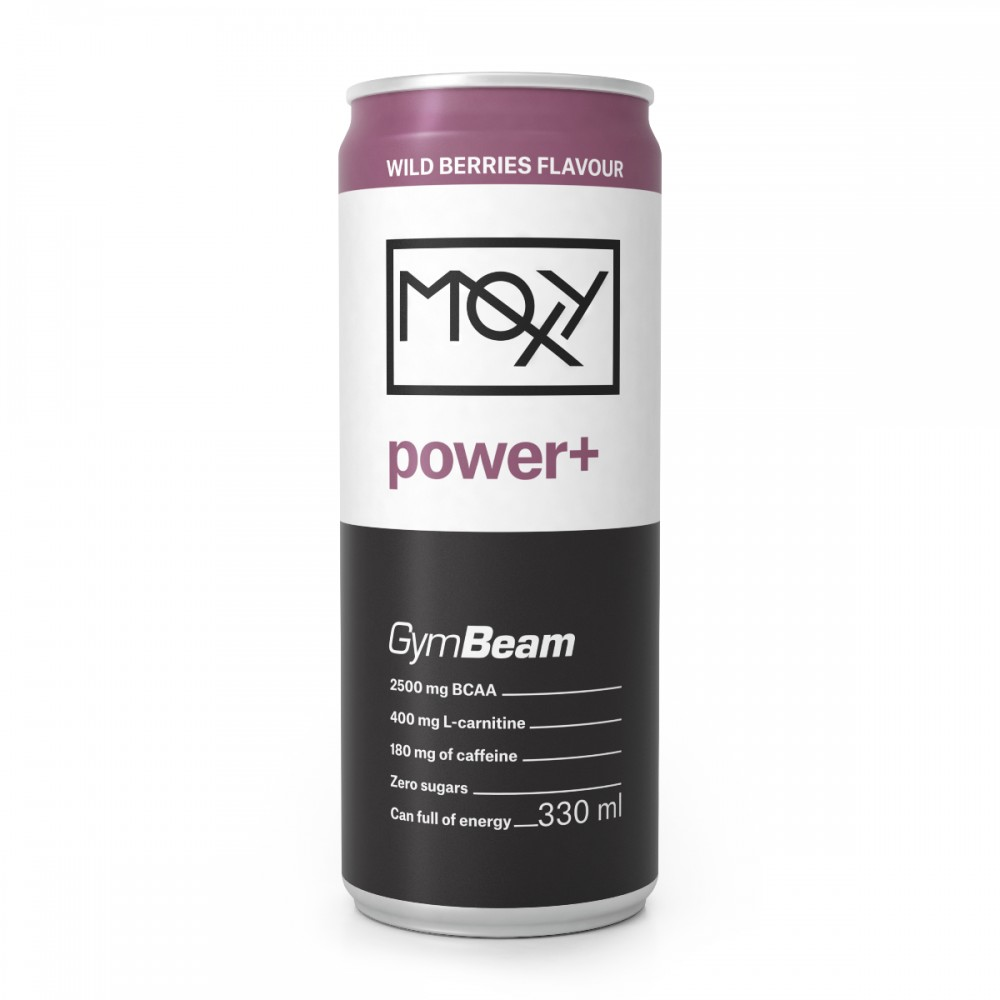 Moxy Power+ Energy Drink 330 ml - GymBeam